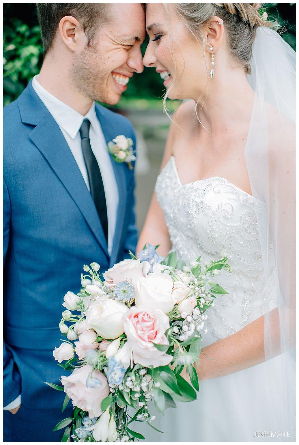 cascade bouquet wedding flower