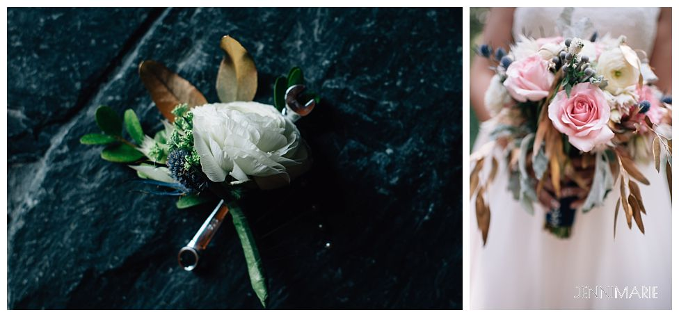 Wedding Flowers and Bouquet Ideas - JenniMarie Photography