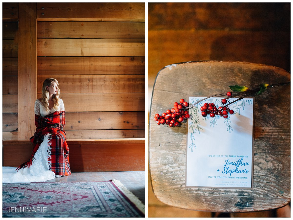 Fort Langley Historic Site Wedding