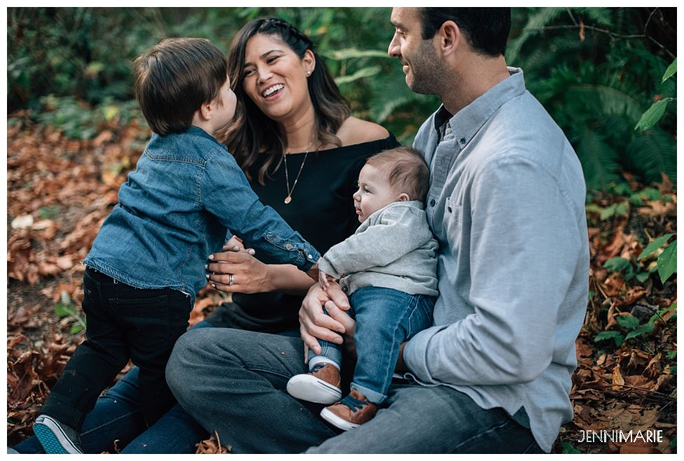 redwood park family photos