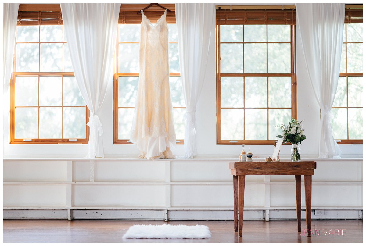 House of Vienna Wedding Gown at Clayburn Village Schoolhouse
