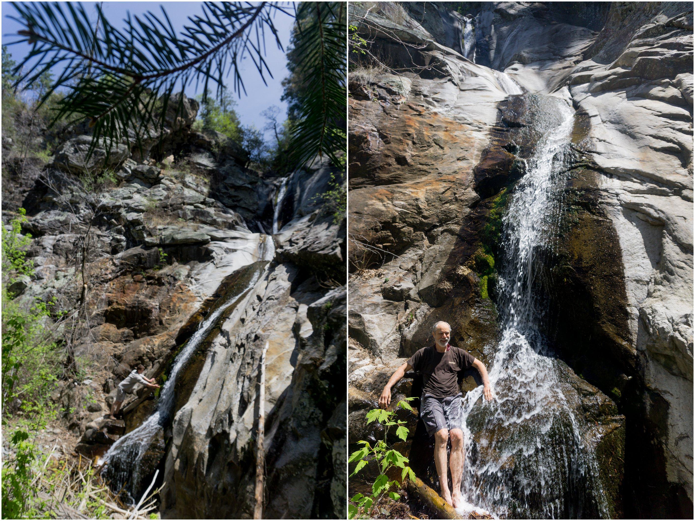 mount lemmon waterfall