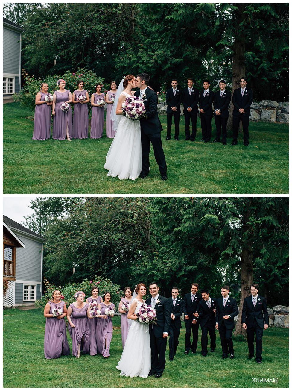 Clayburn Village Schoolhouse Wedding