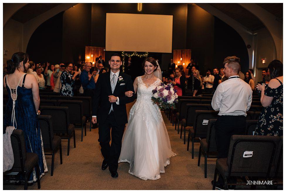 Langley Evangelical Free Church Wedding