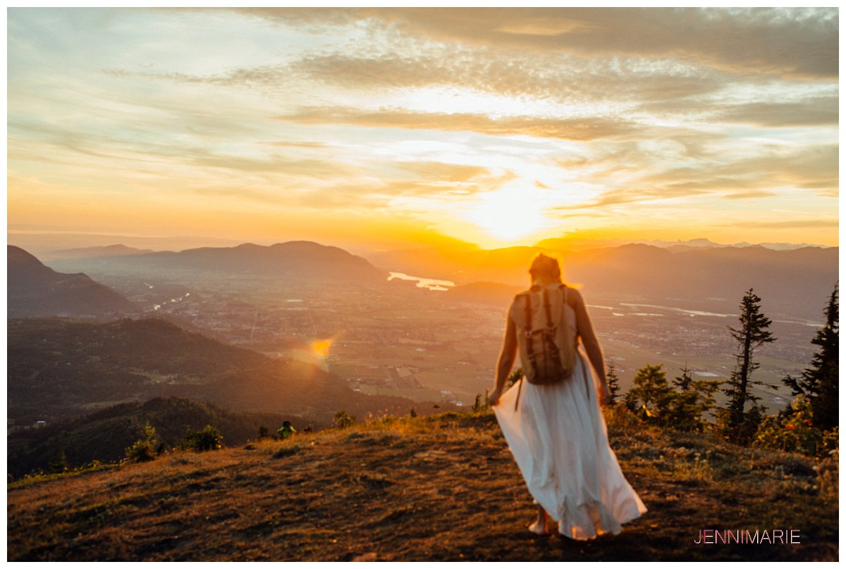 elk mountain bridal portrait