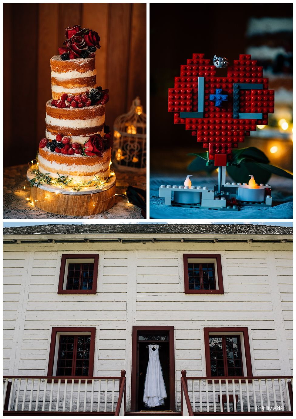 Lego wedding details