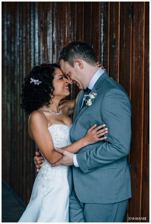 Fraser River Lodge Wedding in the Rain - JenniMarie Photography