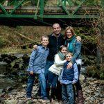 Family Portrait at Cliff Falls Park