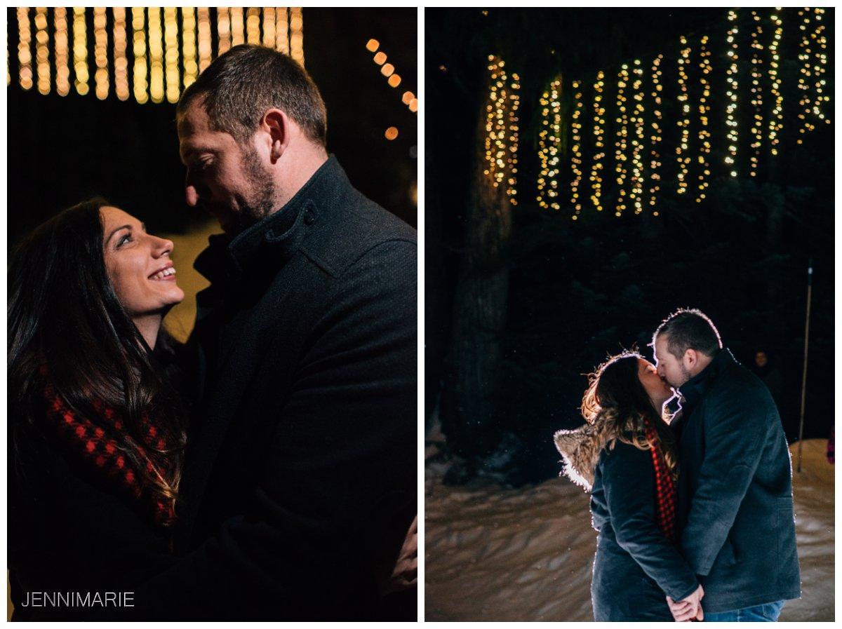 Peak of Christmas engagement photos
