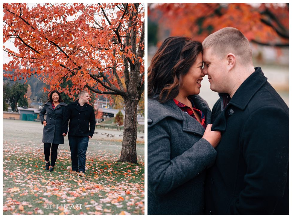 port moody engagement photos
