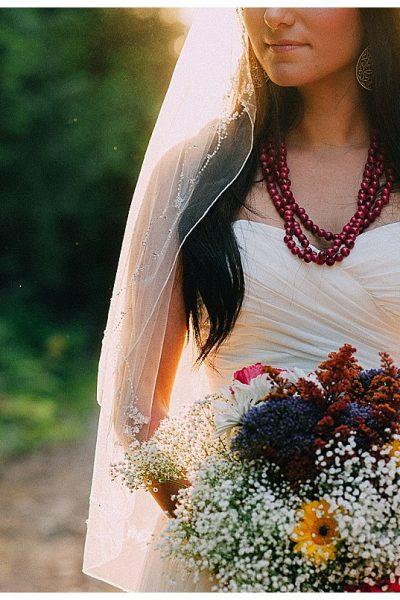 Sumas Mountain Bridal Portrait