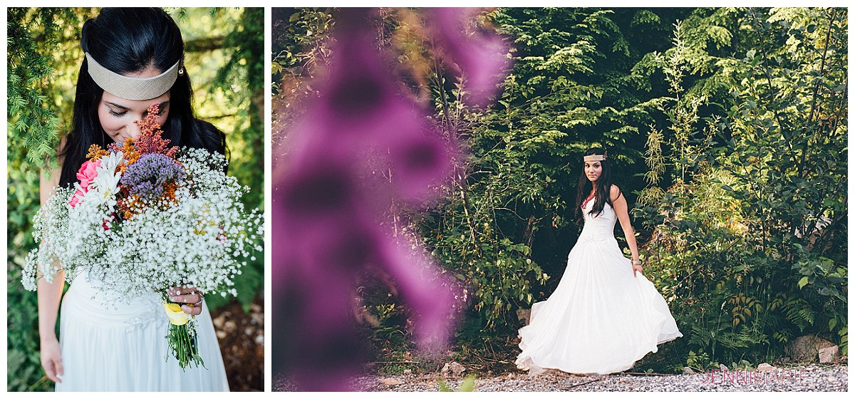 Sumas Mountain Bridal Portrait with House of Vienna