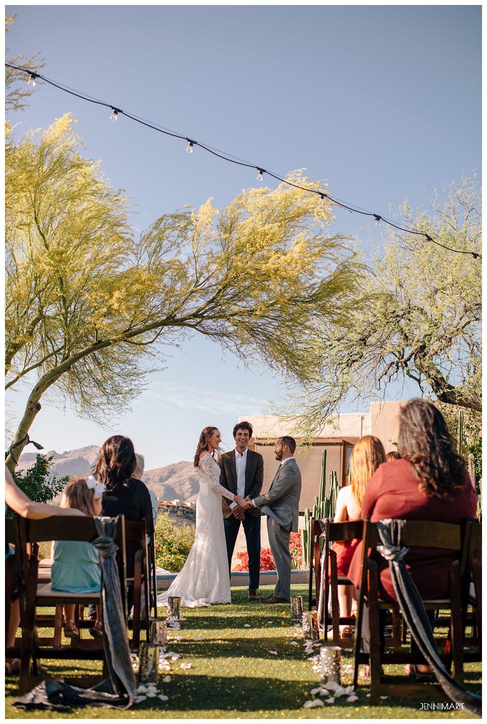hacienda del sol wedding tucson