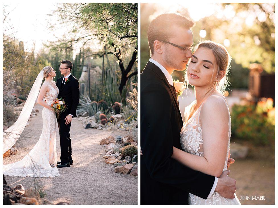 Wedding at Tucson Botanical Gardens - JenniMarie Photography