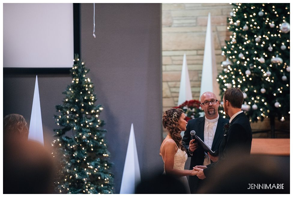 Winter wedding at Bakerview