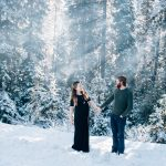 Winter Maternity Portraits