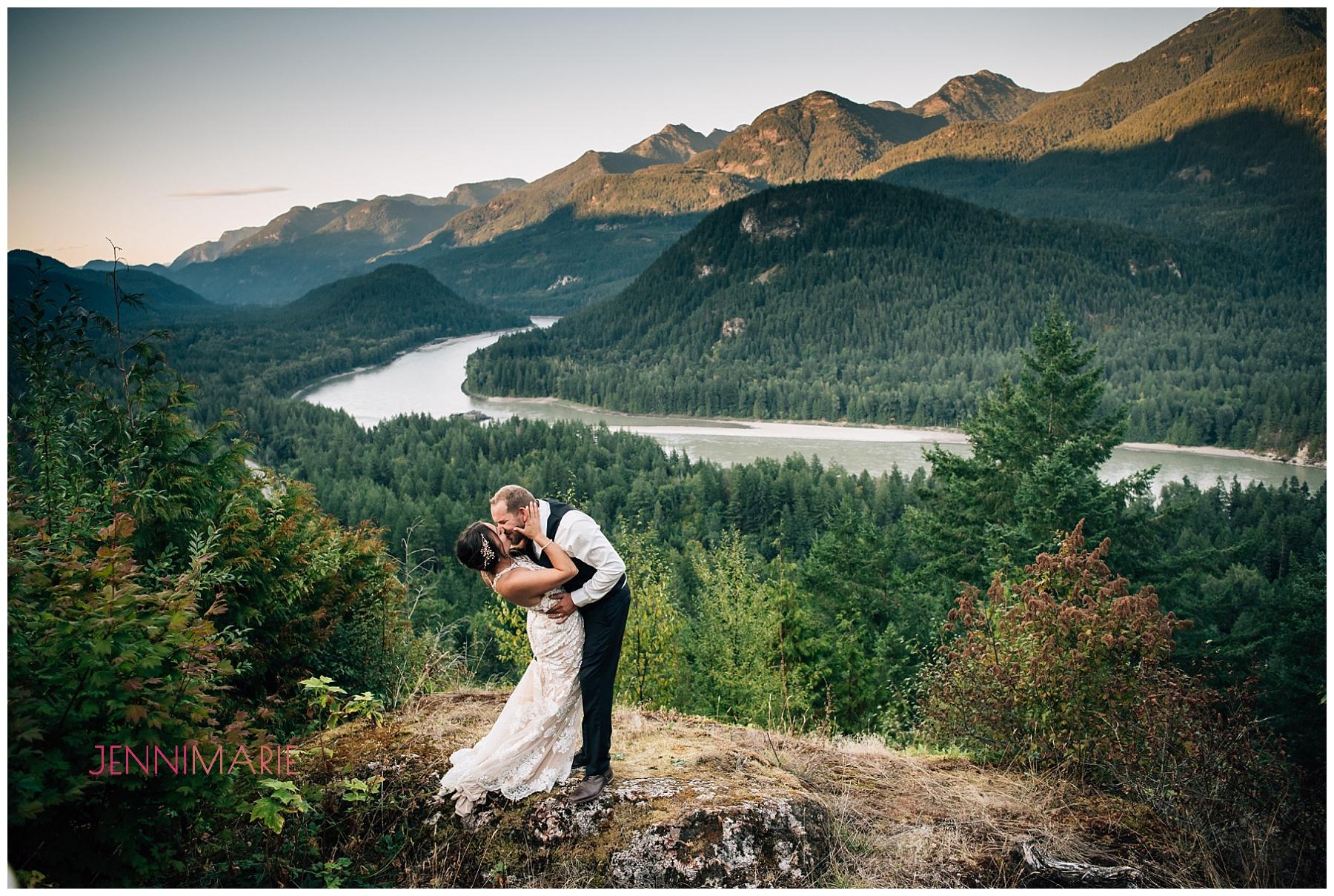 Wedding at American Creek Lodge