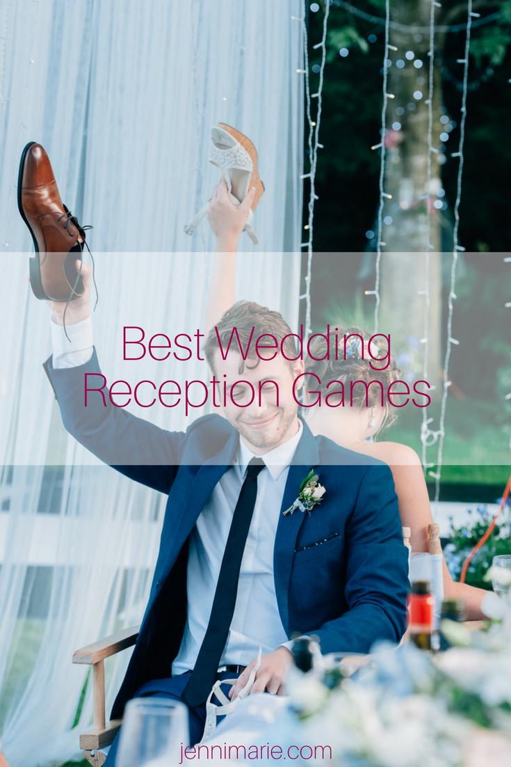 Best Wedding Reception Games