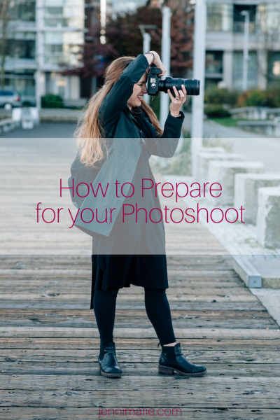 How to Prepare for your Photoshoot