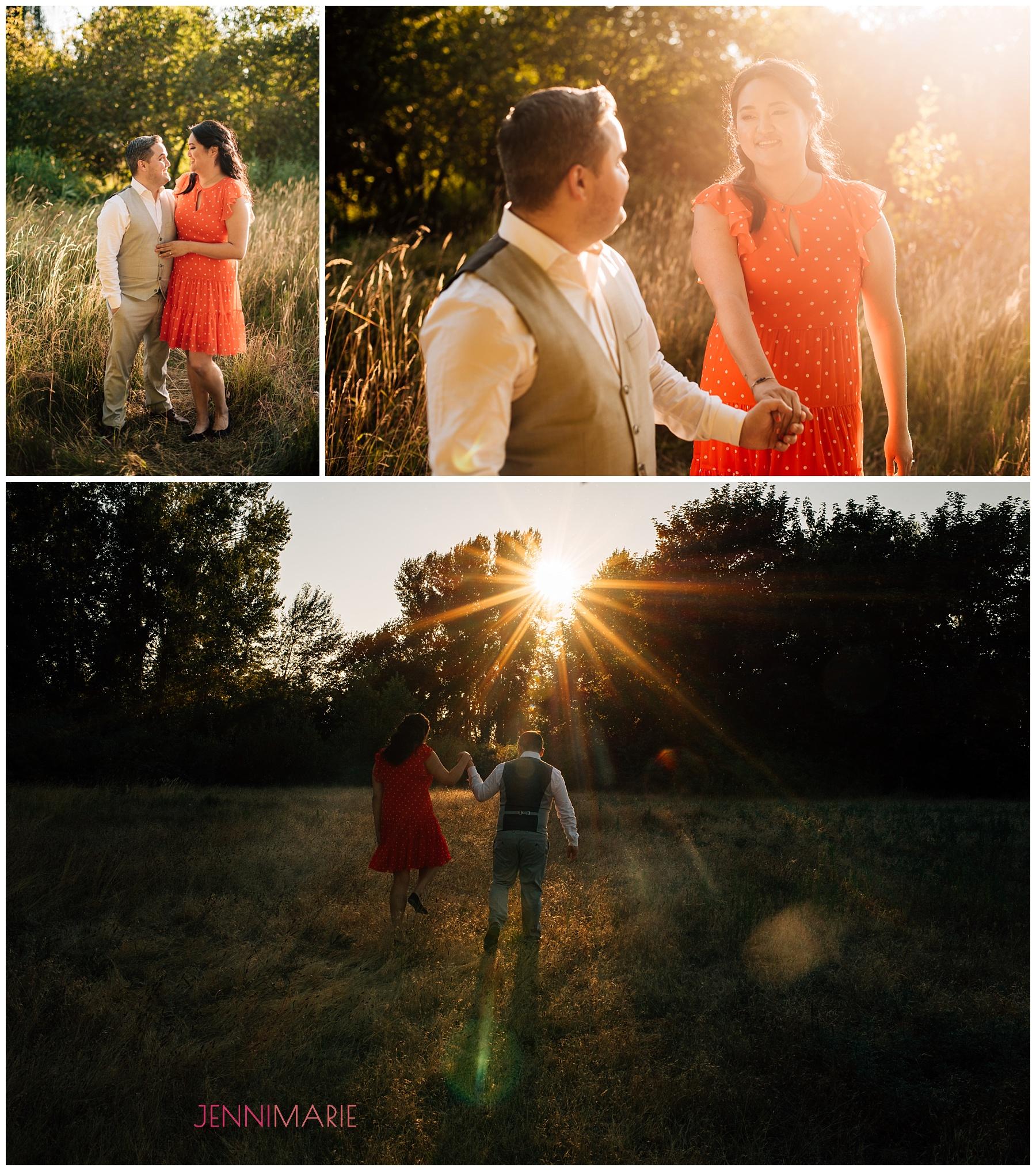 Blackie Spit Engagement Photos