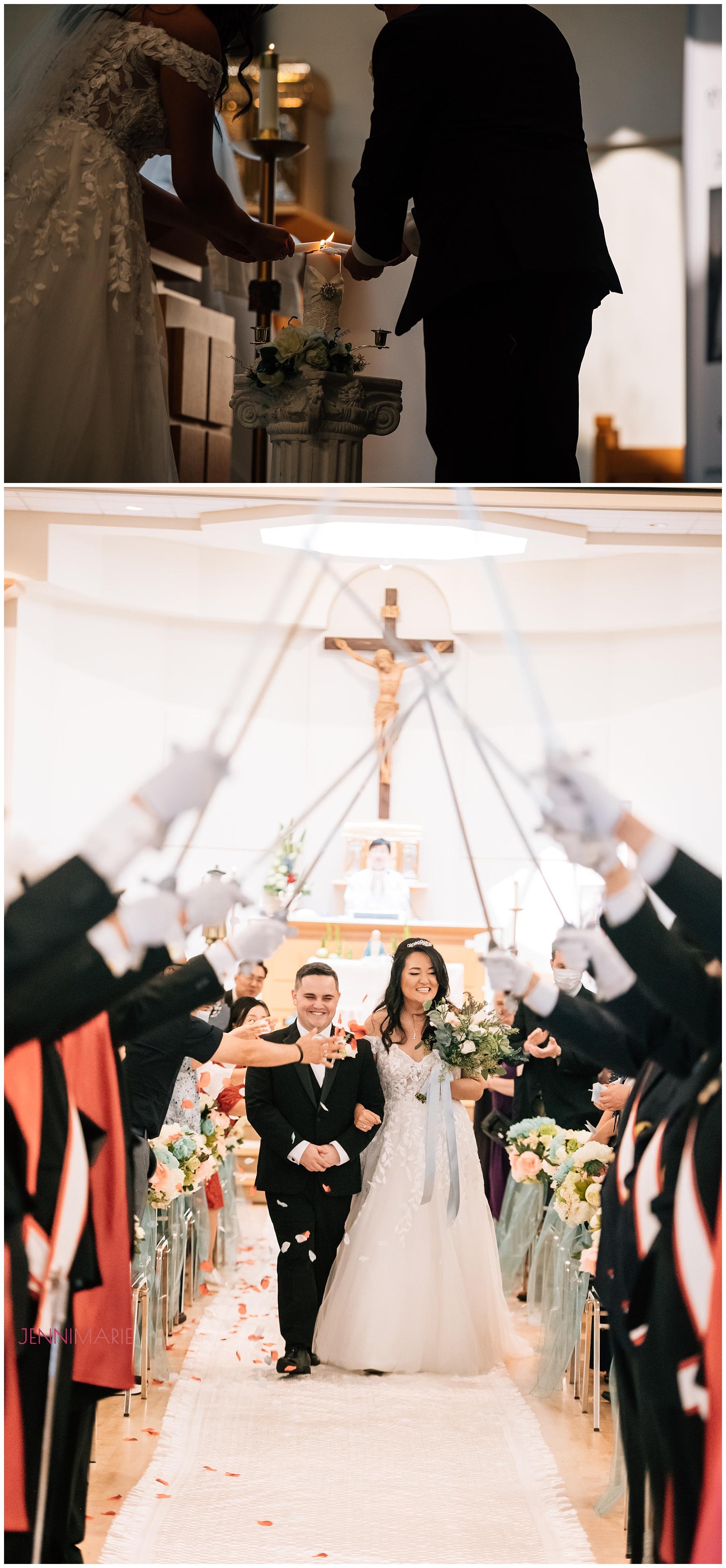 St. Andrew Kim Parish wedding