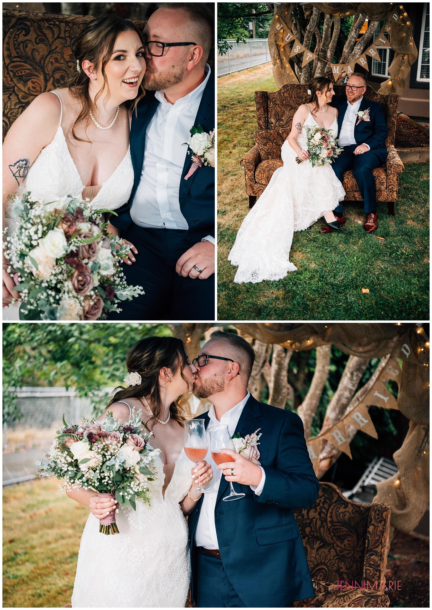 Backyard Wedding in Aldergrove