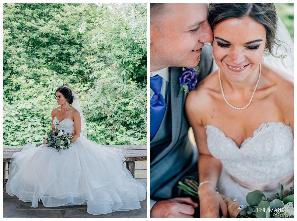 ellewood park bridal portrait