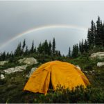 I went camping on Zoa Peak