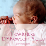 How to DIY Newborn Photos