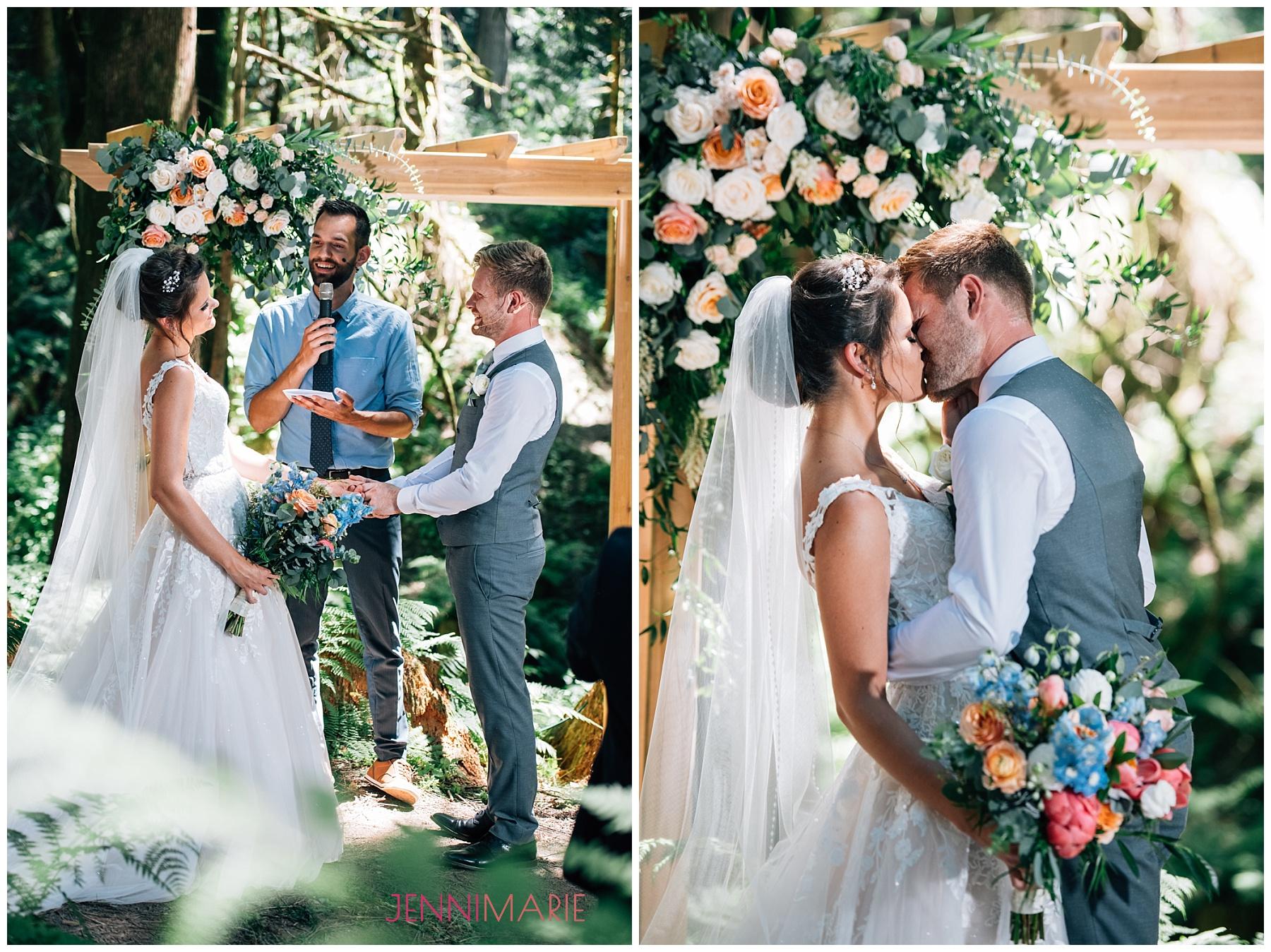 Heronsbridge Wedding in the Forest