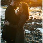 Stanley Park Sunset Engagement Photos