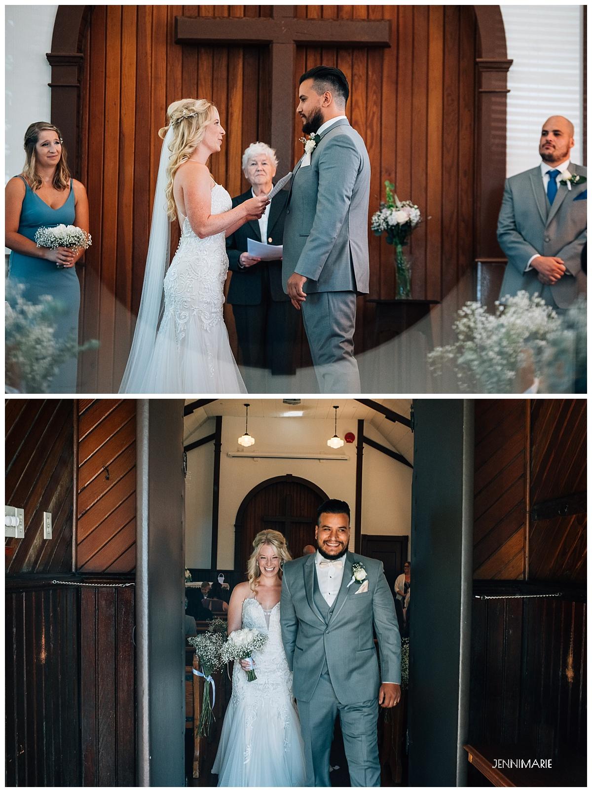milner chapel micro wedding