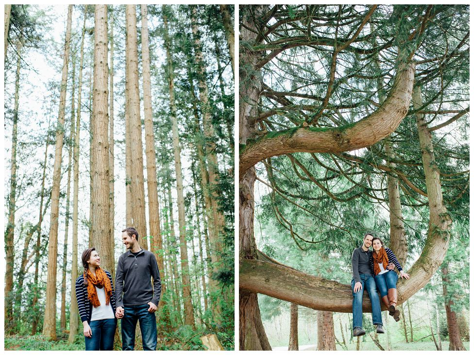 Redwood Park Engagement Photos