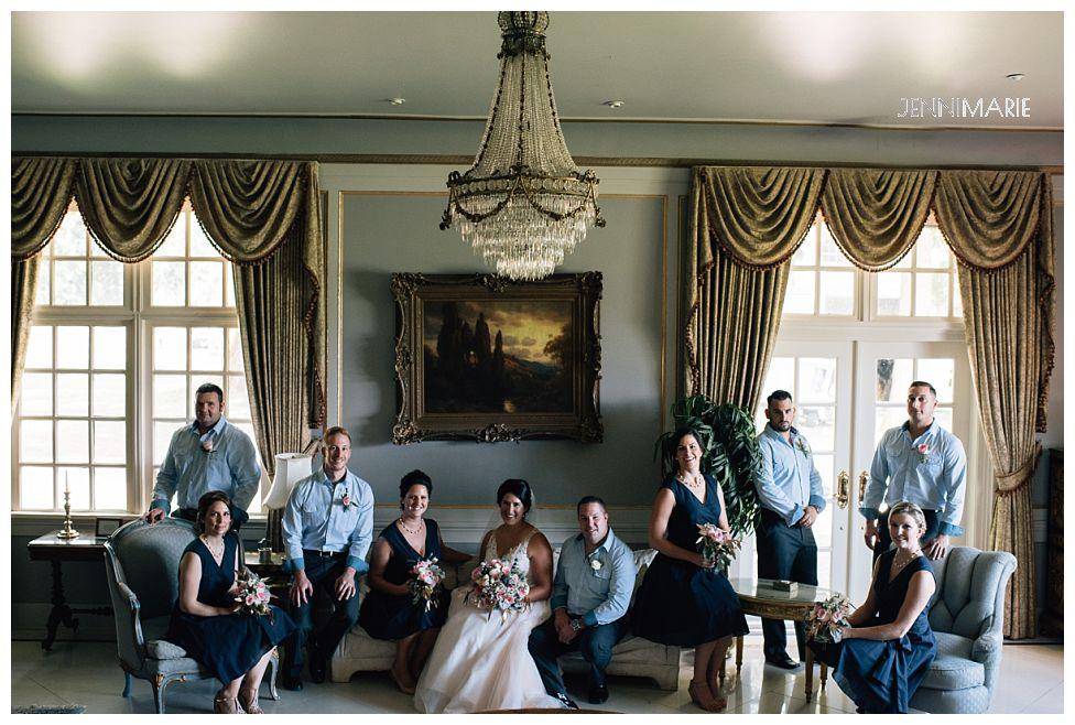 Rowena's Inn Wedding Portrait