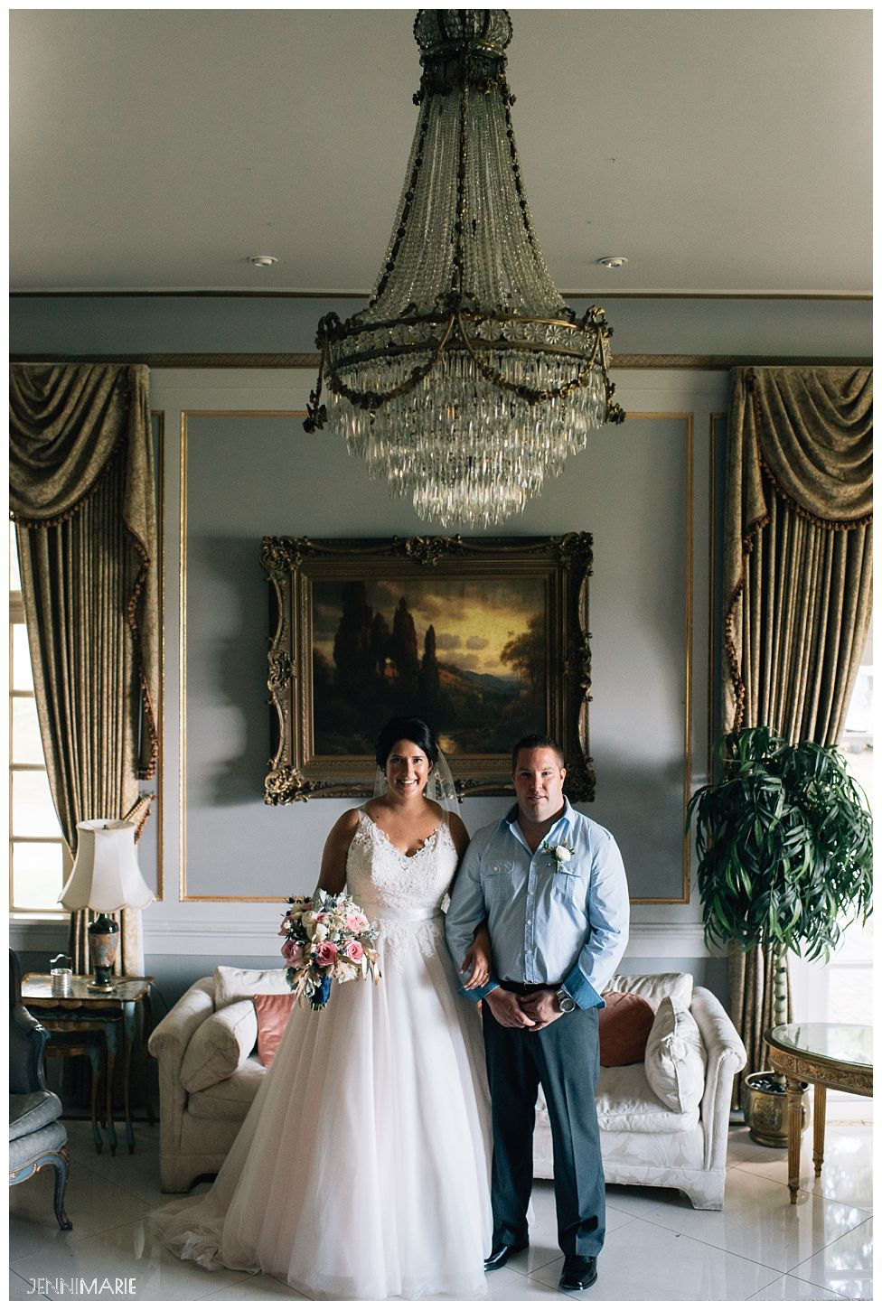 Rowena's Inn Wedding Portrait