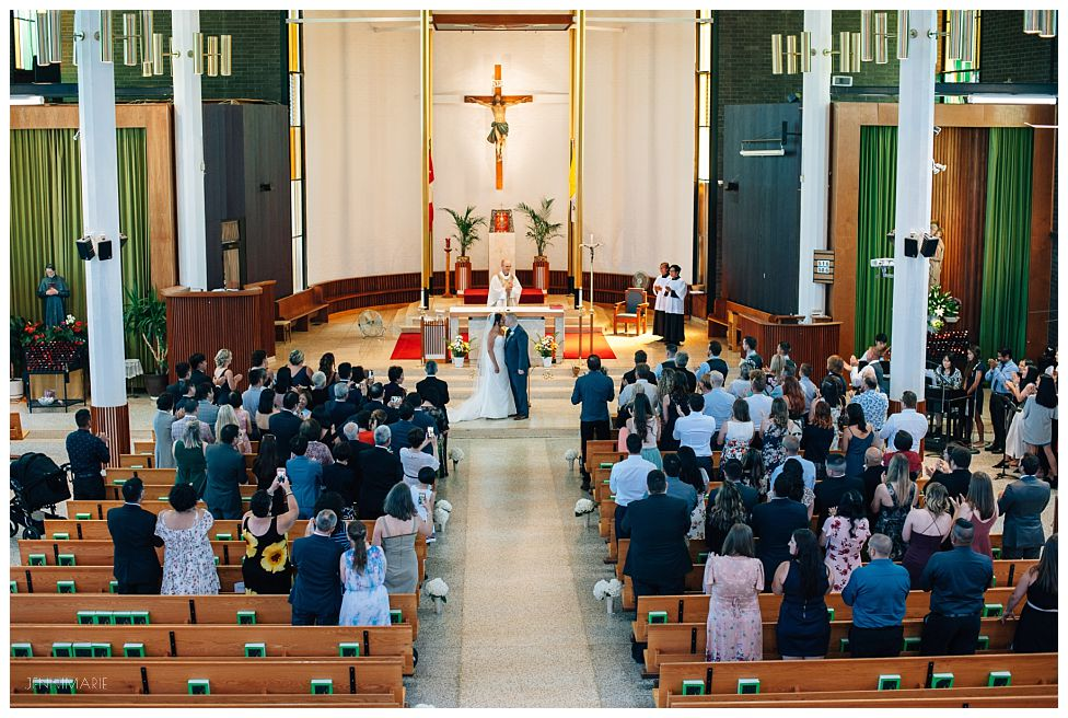 our lady of good counsel wedding mass