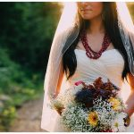 Sumas Mountain Bridal Portrait