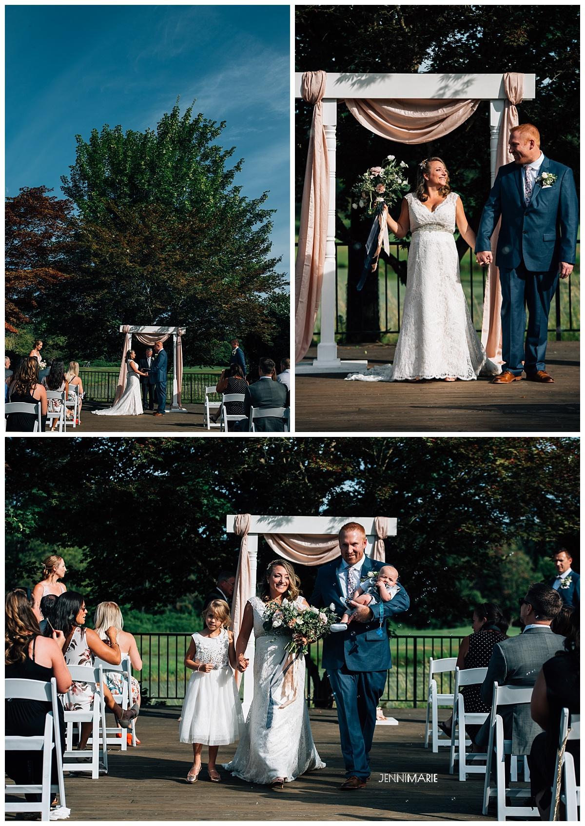 swaneset wedding ceremony