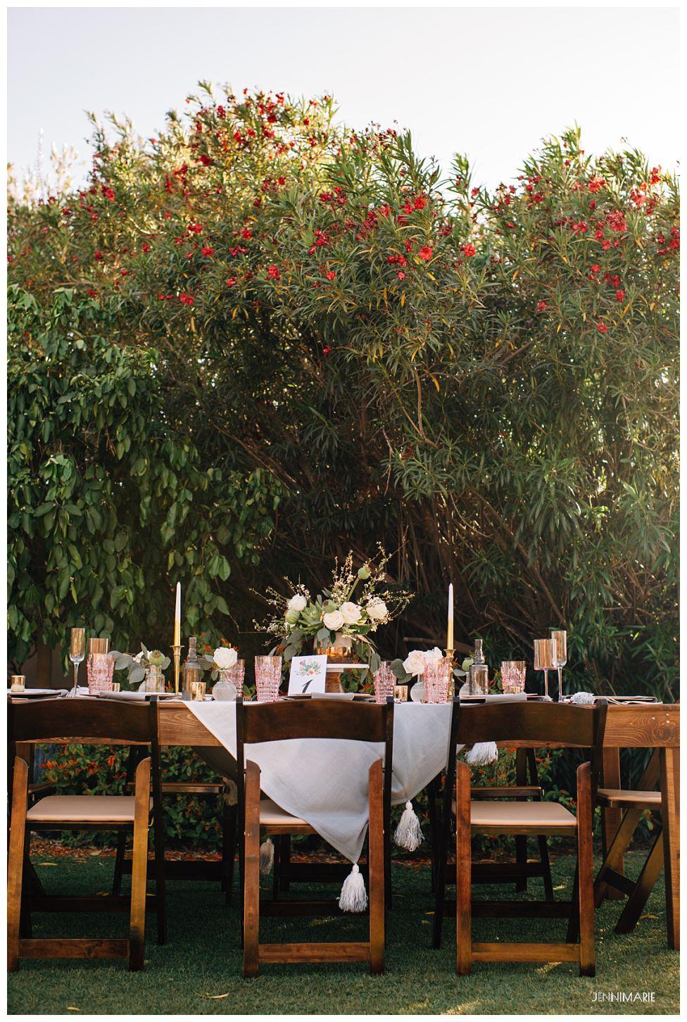 POM Events hacienda del sol wedding tucson