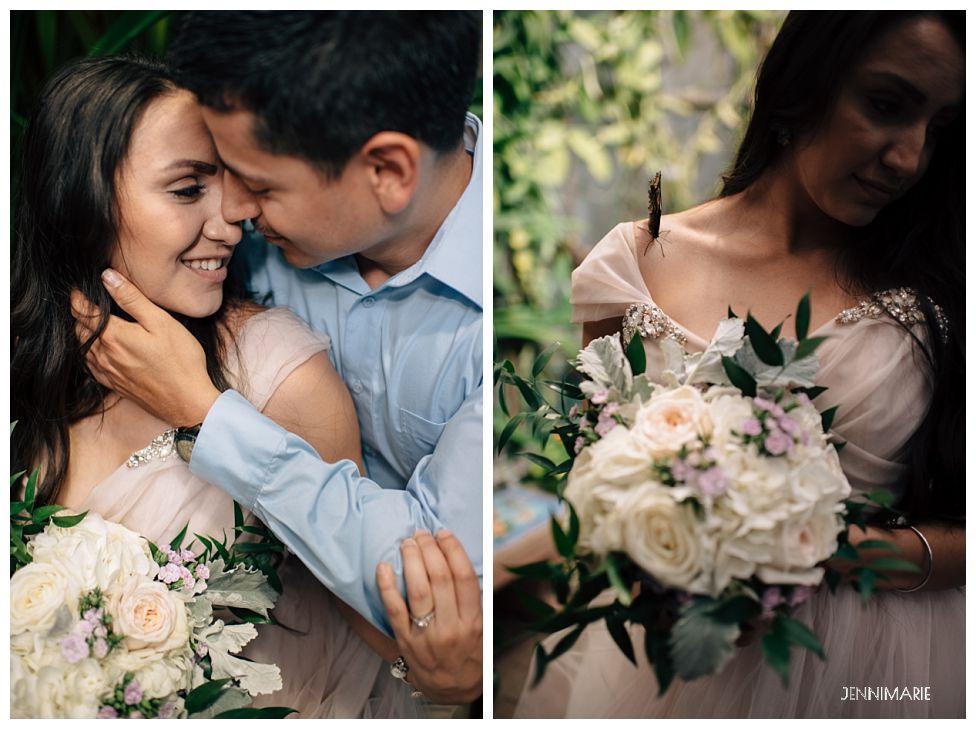 Tucson Botanical Garden Wedding Jennimarie Photography